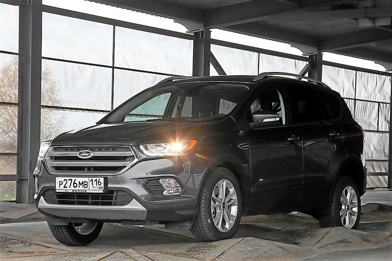 Новый Форд Kuga подготовили к русским дорогам ихолодам