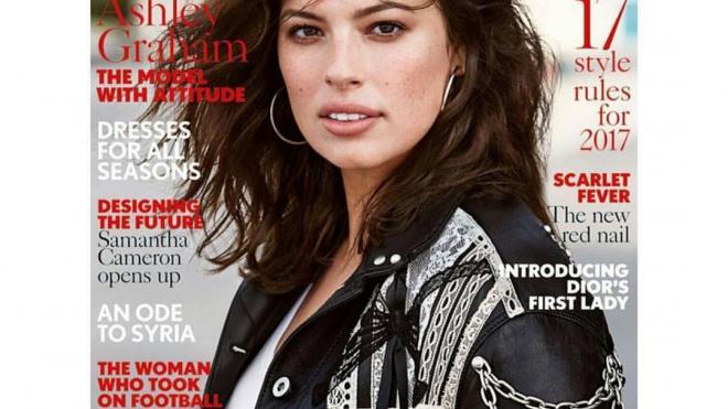 Наобложке журнала Vogue впервый раз возникла модель plus size