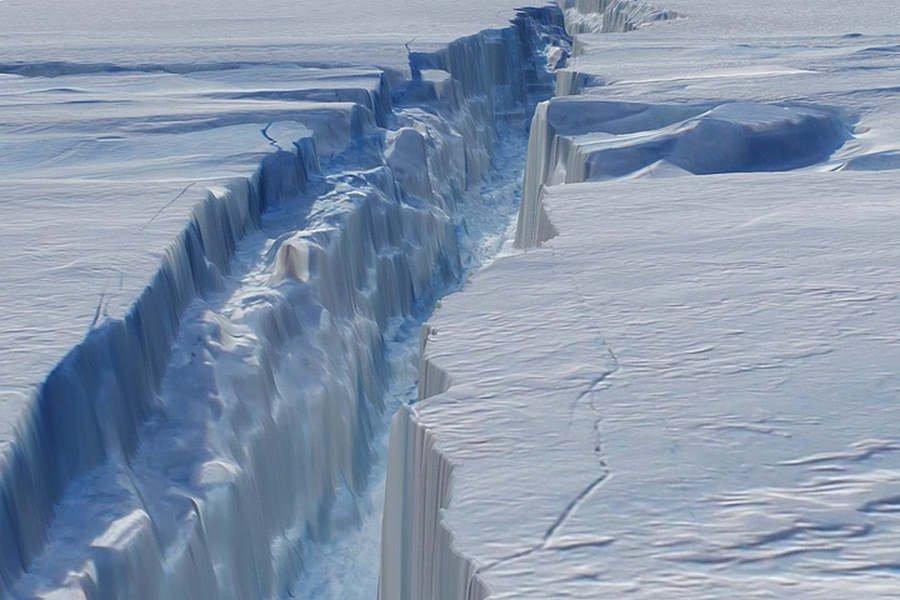 Предвестник потопа: вАнтарктиде тает самый крупный ледник