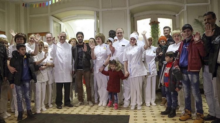 ВСирию вернулись дети, проходившие лечение в Российской Федерации