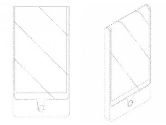 LGMobile запатентовала обернутый экраном смартфон