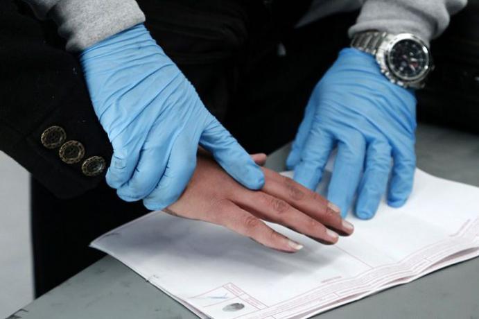 В «Поднебесной» будут брать отпечатки пальцев увъезжающих иностранцев