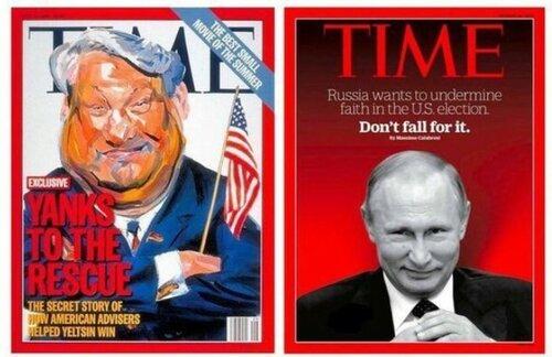 Россия и Запад: Политика в картинках #54