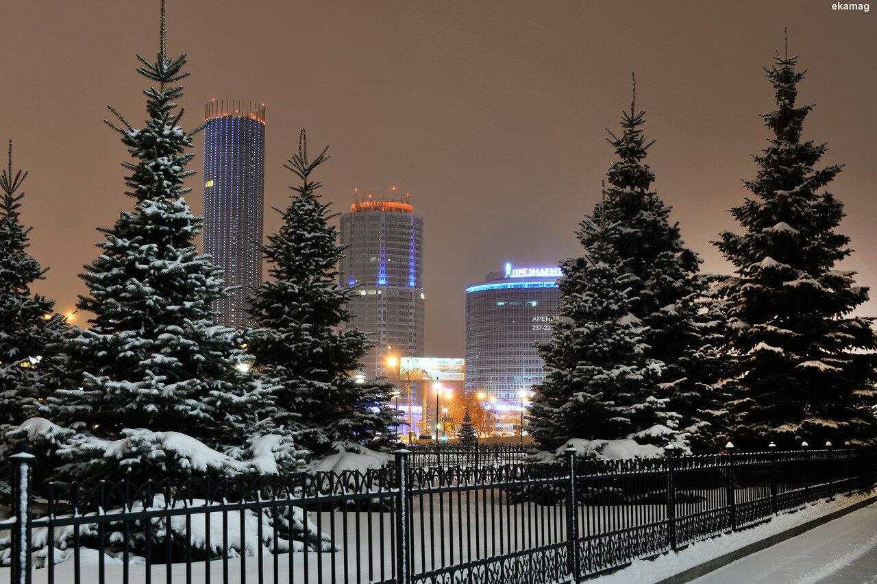 ночные зимние фото екатеринбурга результате этого