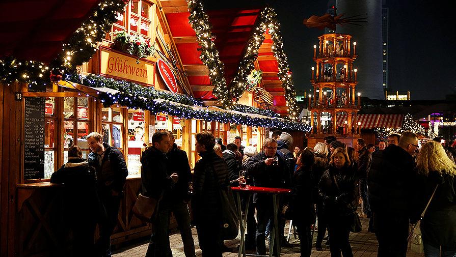 Рождественская ярмарка в Берлине, Германия