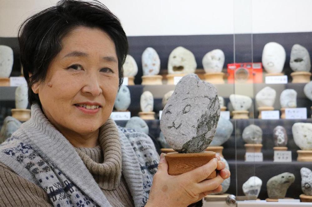 Head curator, Yoshiko Hayama.