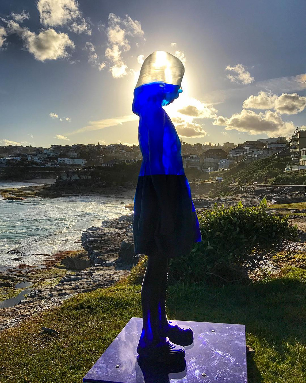 Alessandra Rossi, Untitled Coral. Sculpture by the Sea, Bondi 2016. Photo by Grace Sui .