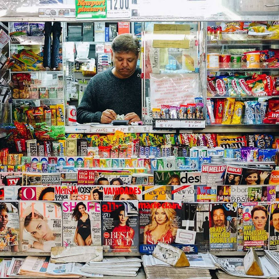 Inside New York City Newsstands with Nei Valente
