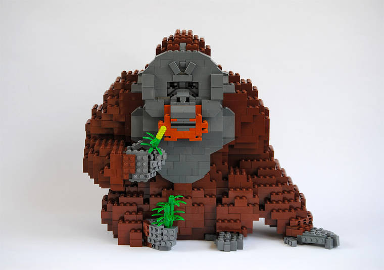 The LEGO animals of Felix Jaensch