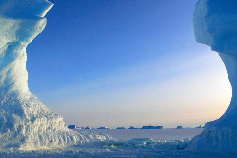 Antarctica is under stress: The frigid continent contains more than 90 percent of the world's natura