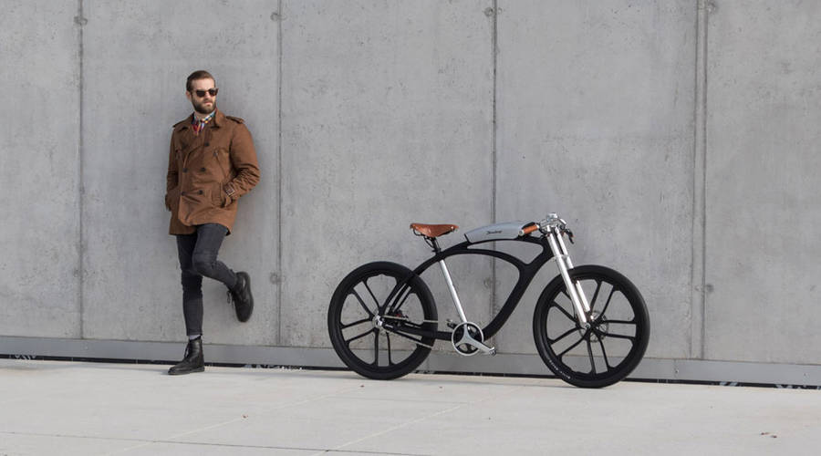 Smart Electric Bike Made with Portable Battery