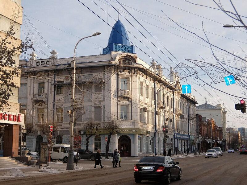 Красноярск - Дом купца Гадалова
