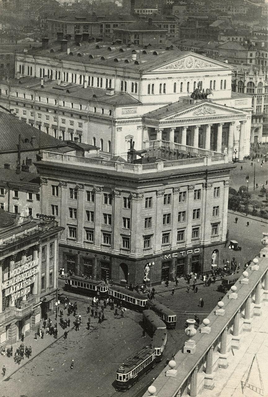 558660 Вид на Большой театр с гостиницы Москва 1936.jpg