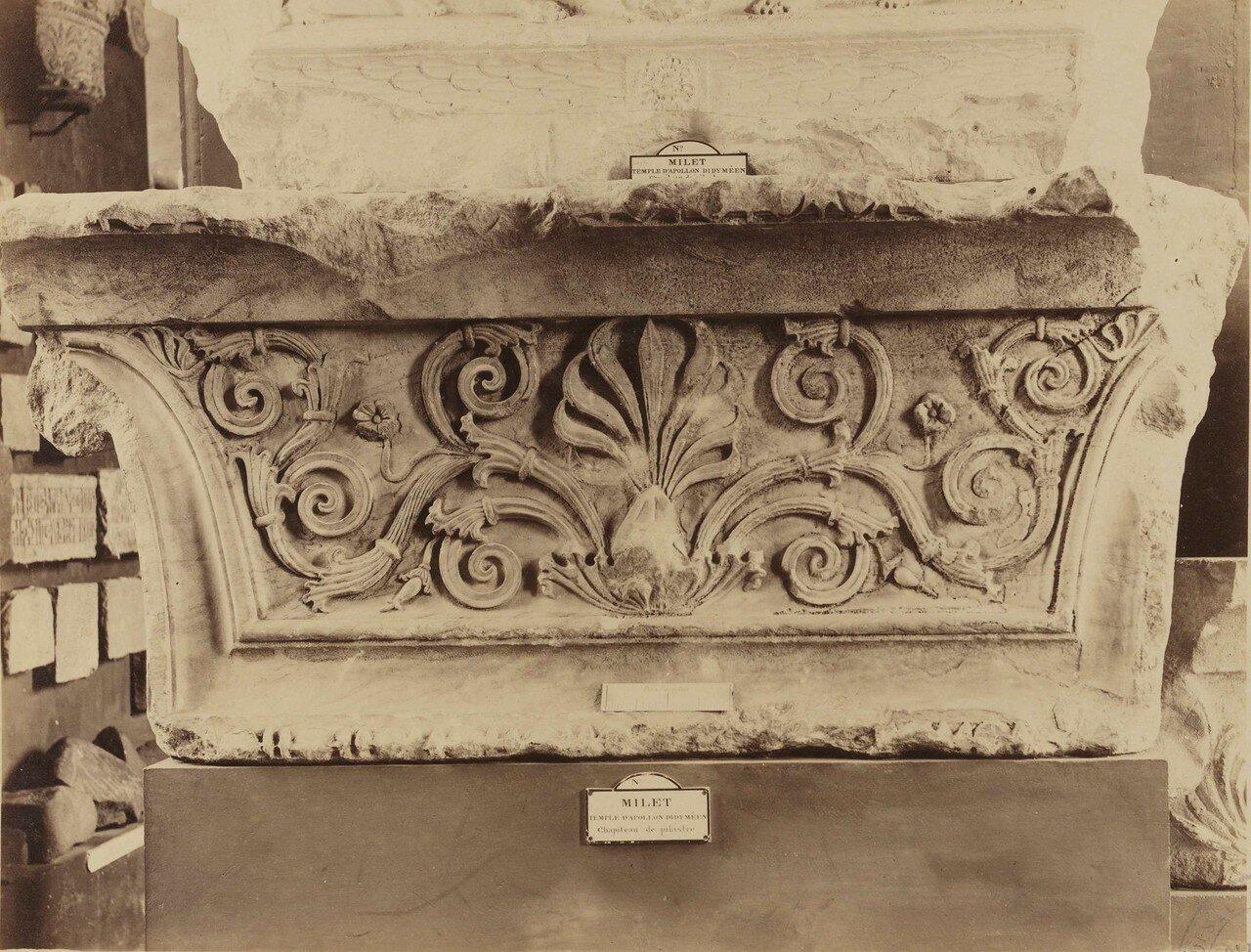 135. Шатровый пилястр из храма Аполлона в Милете