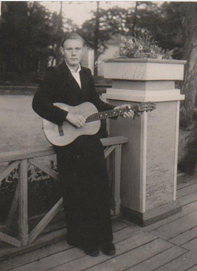 1947. Лодочная станция в Гатчинском парке