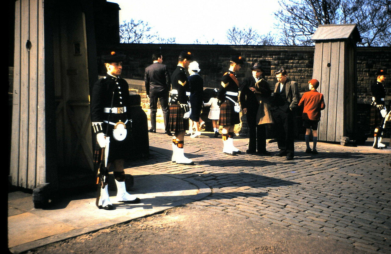 Эдинбург. Вход в Эдинбургский замок