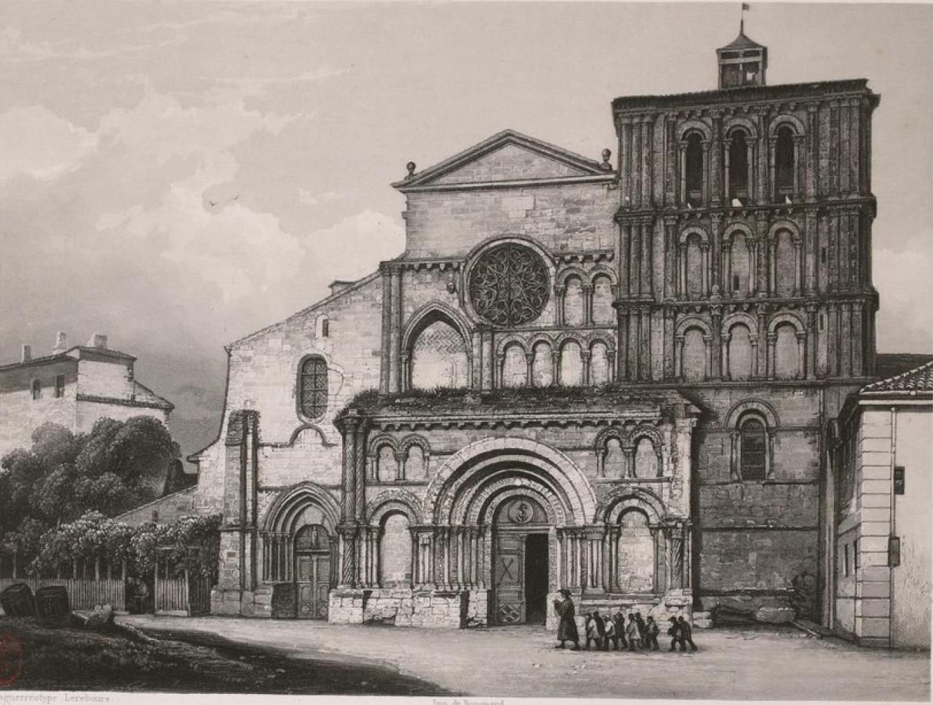 Франция. Бордо. Церковь Св. Креста