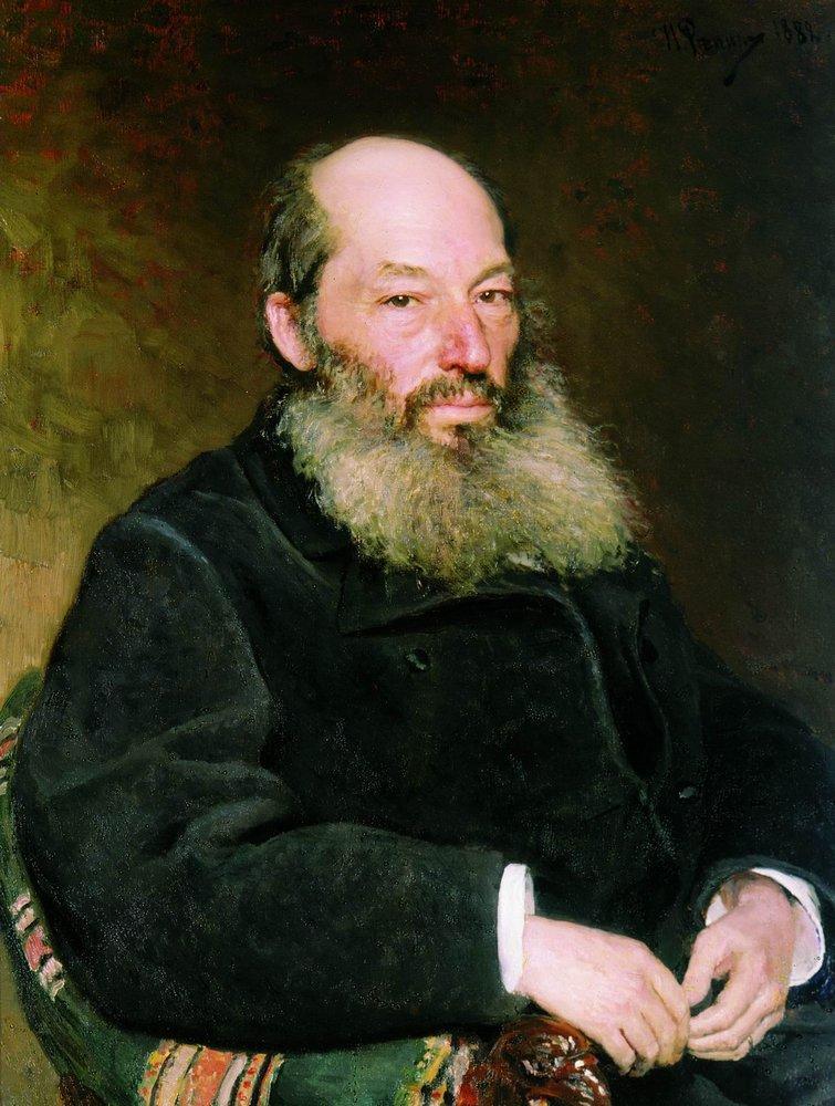 И.Е. Репин. Портрет поэта А.А. Фета. 1882 г.