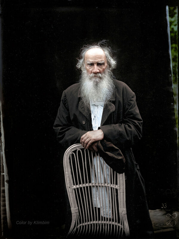 Лев Толстой, фото: Карл Булла