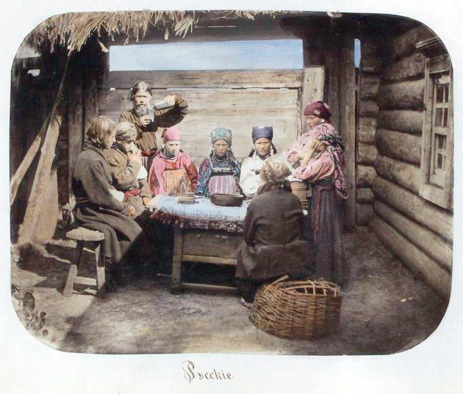 Питание в русской деревне конца XIX века