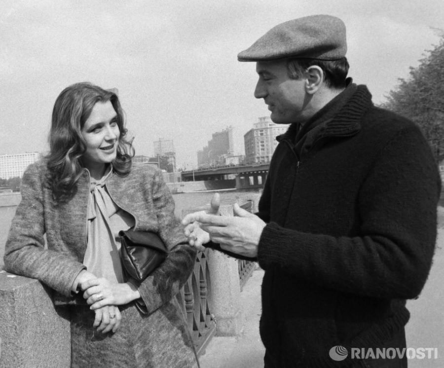Советские и иностранные знаменитости