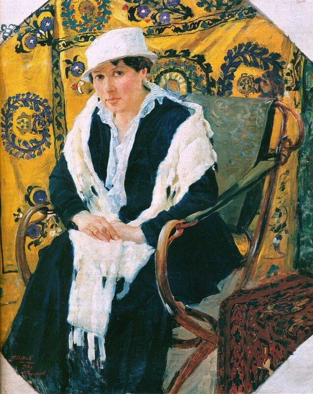 Исупов А.В. – Портрет жены художника. 1918..jpg