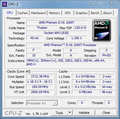 Текущий CPU