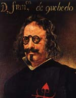 портрет Ф.Кеведо