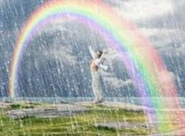 День летнего солнцестояния! Солнце дарит радугу! открытки фото рисунки картинки поздравления