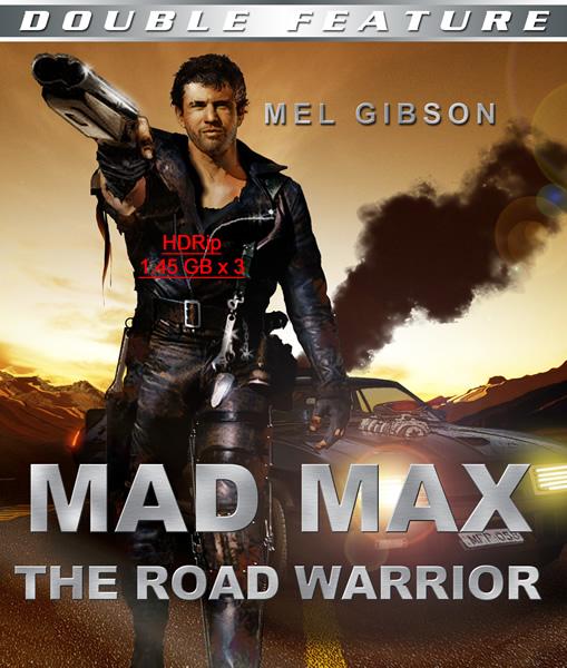 Безумный Макс (Трилогия) / Mad Max / 1979-1985 / ДБ / HDRip (1400 x 3)