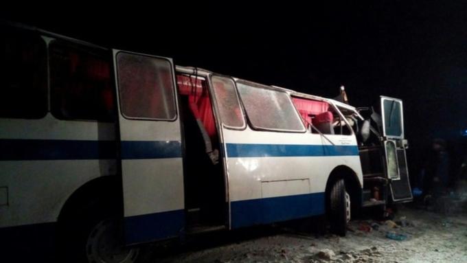 Возбуждено уголовное дело пофакту автокатастрофы сучастием автобусов наЧуйском тракте