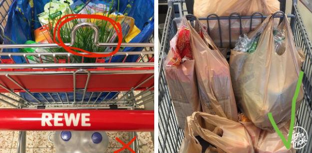 Все еще бросаете как попало пакеты с продуктами в тележку?