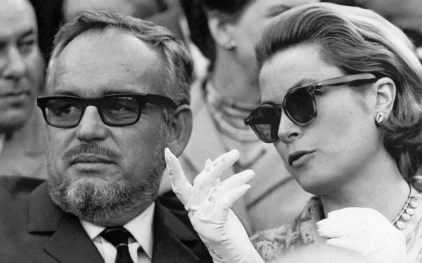 19 апреля 1966 года. Ренье и Грейс на корриде в Севилье.