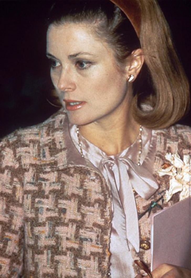 Княгиня Грейс в июне 1962 года.
