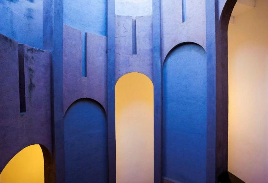 © ricardobofill.com  Если есть творческое мышление, толюбое пространство можно сделать красив
