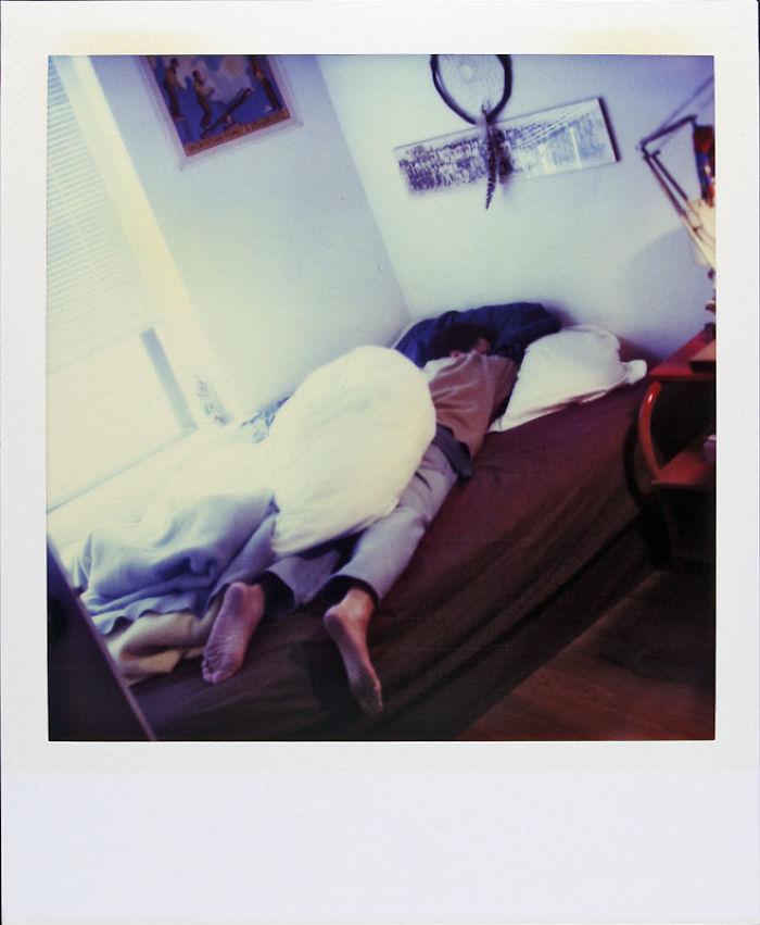 13 февраля 1997 года: крепко заснул в кровати.