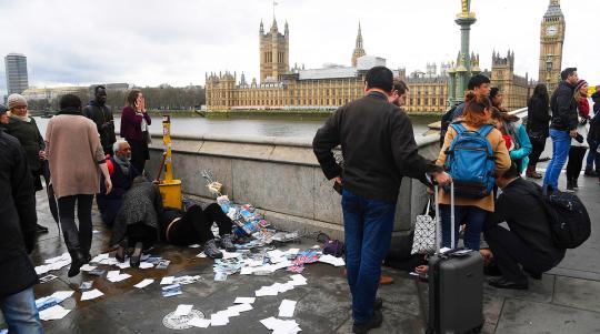СМИ приблизительно назвали исполнителя теракта встолице Англии