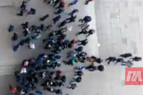 Побоище воЛьвове: Подростки напали настудентов заотказ платить дань 18+