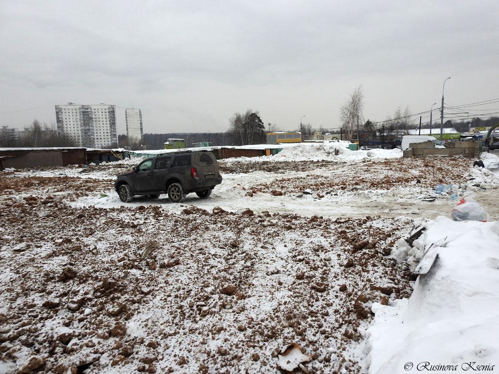 Снос гаражей в Ясенево