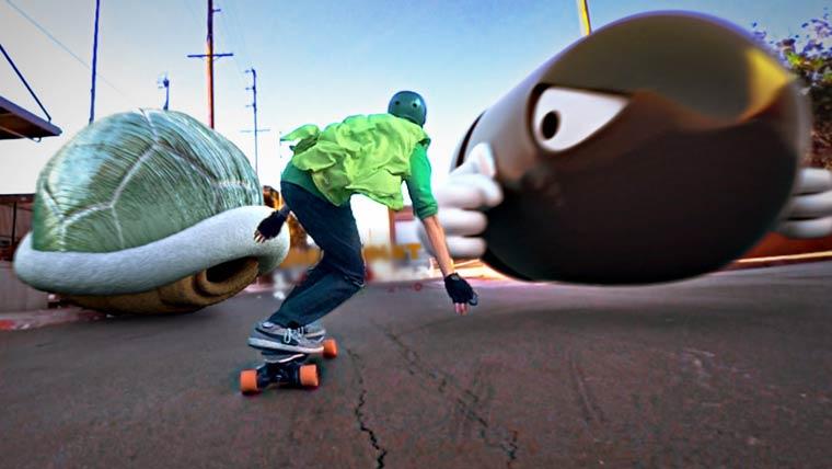 Mario Kart Skate – When the Mario Kart universe meets the real world (9 pics)