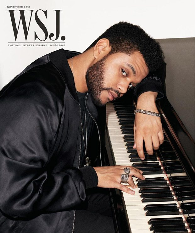 The Weeknd Stars in WSJ. Magazine November 2016 Cover Story