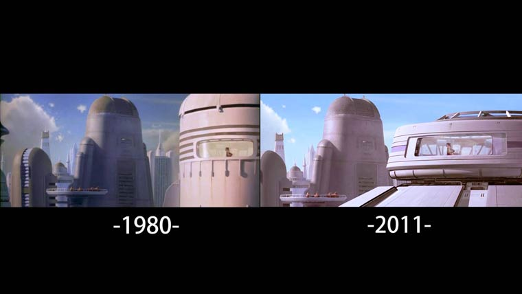 Star Wars - Comparative videos of all the changes made on the original trilogy