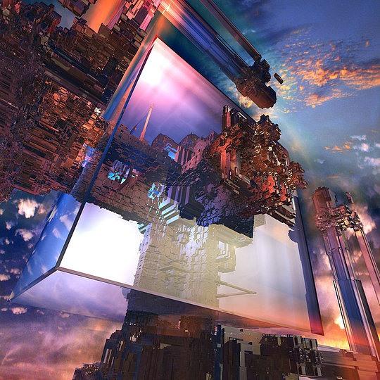 Futuristic Artworks by Mark J. Brady