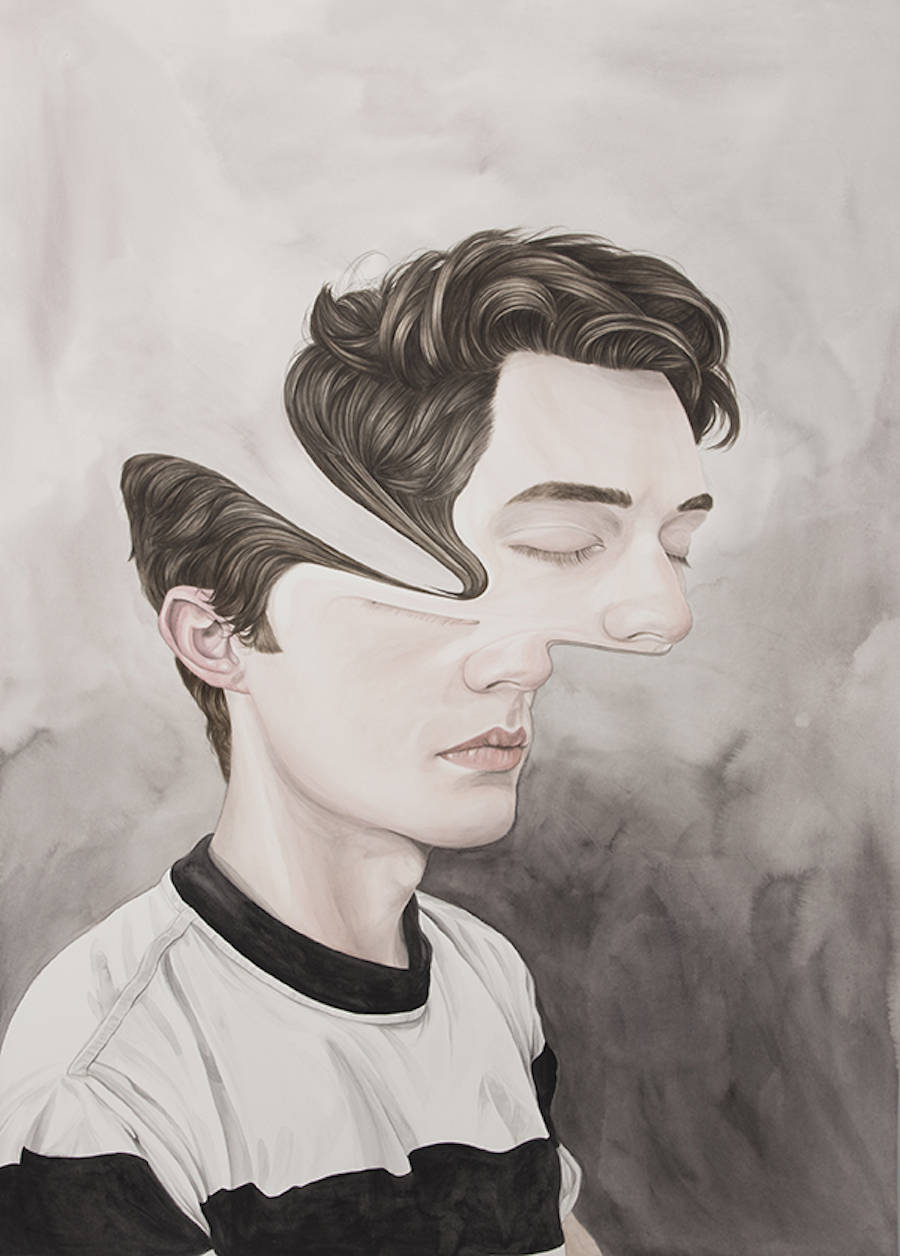 Brilliant Abstract Portraits by Henrietta Harris