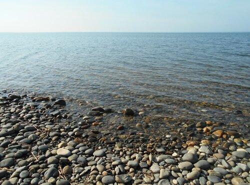Прозрачность мартовской спокойной воды Азовского моря ... DSCN1277.JPG
