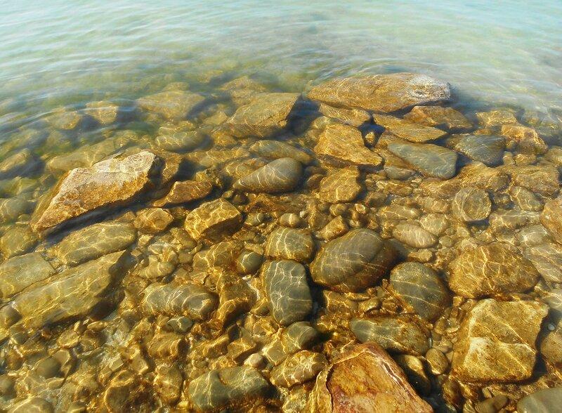 Прозрачность мартовской спокойной воды Азовского моря ... DSCN1298.JPG