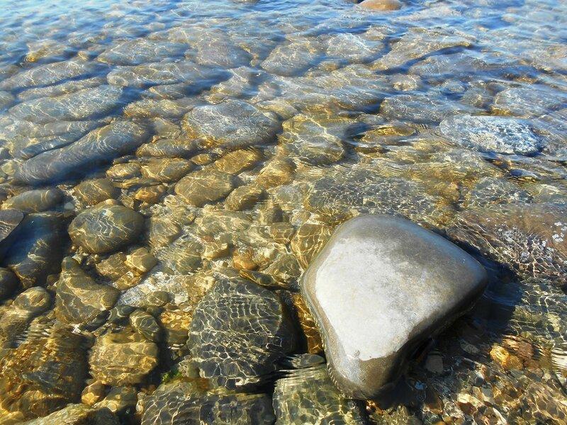 Прозрачность мартовской спокойной воды Азовского моря ... DSCN1299.JPG