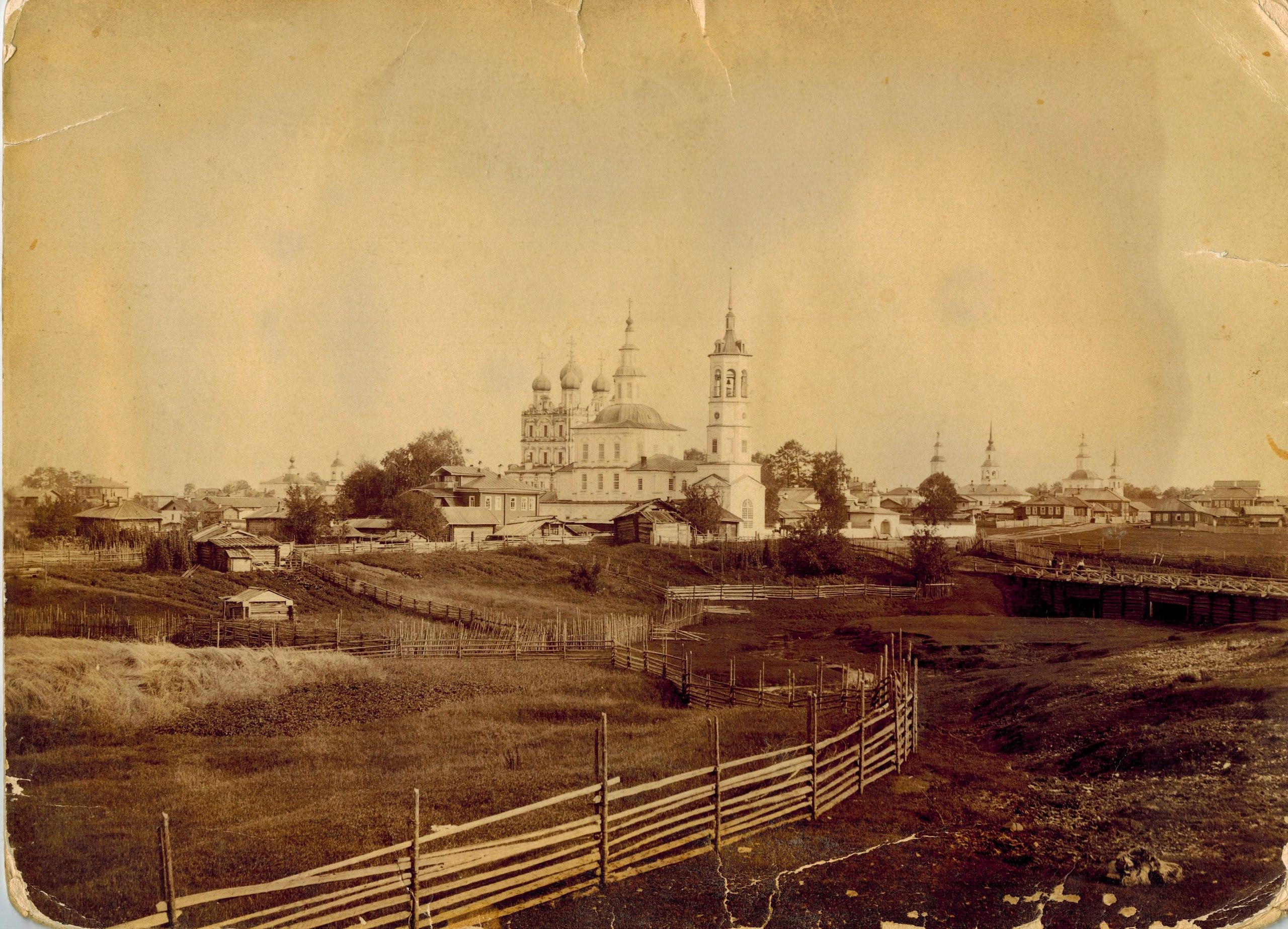 Борисоглебская церковь и Введенский собор