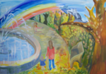 Хоменко Полина (рук. Мезенцева Александра Ивановна) - Осенняя радуга