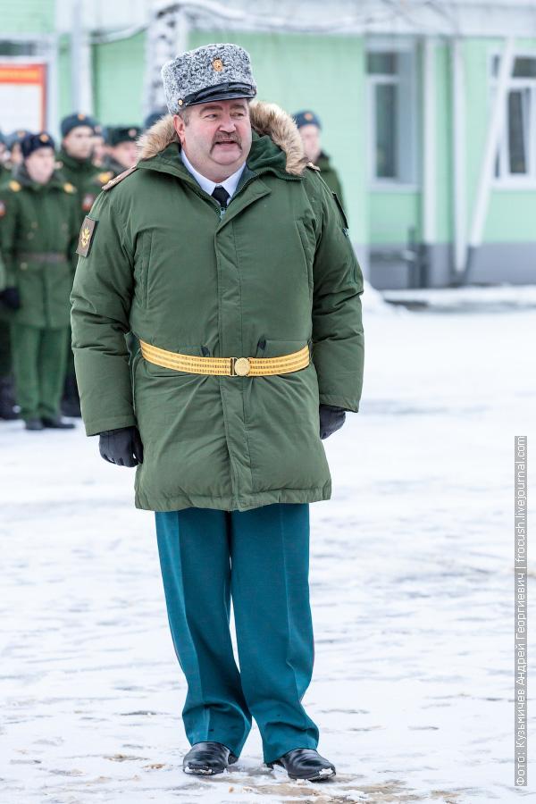 Полковник Хребет Сергей Николаевич, командир в/ч 48905 Егорьевск